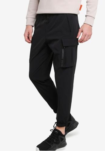 361° black Sports Life Sports Pants 0B63DAA15DB7DFGS_1
