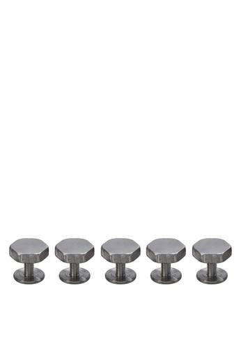 六角形鈕扣組合, 飾品配件, esprit分店首飾