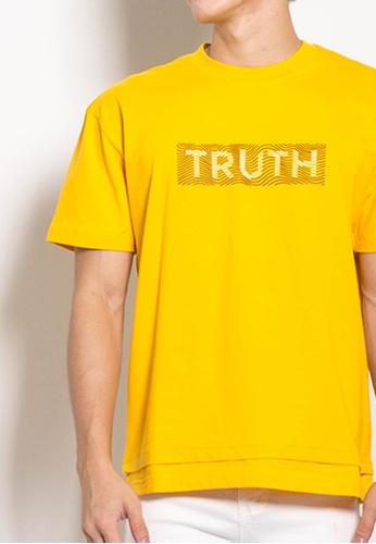 SUB yellow Men Oversized Fashion Tee EE1C1AAFA0623AGS_1