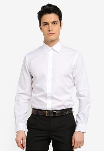 Brooks Brothers 白色 Red Fleece Nine To Nine Basics Spread Polo Shirt 20549AA957AF75GS_1
