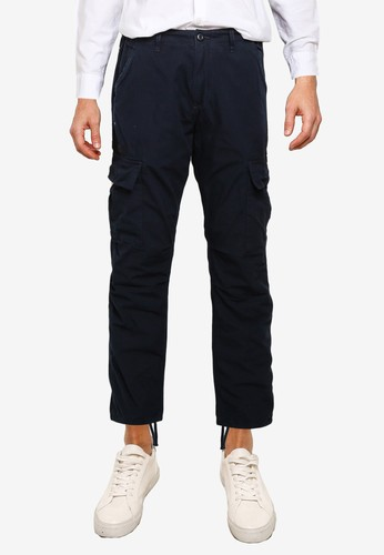 Superdry navy Field Cargo Trousers D09D3AA1F7B94FGS_1