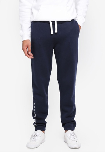 Jack Wills navy Gosworth Jack Wills Sweatpants BE3D3AA9A67975GS_1