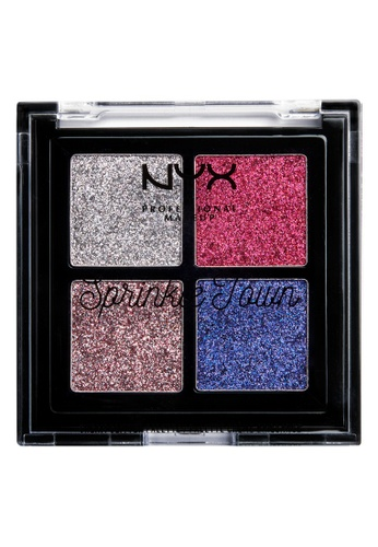 NYX Professional Makeup pink NYX Professional Makeup SPRINKLE TOWN GLITTER PALETTE - STRAWBERRY WHIP A8A35BE0EBB809GS_1