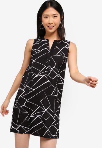 ZALORA BASICS black Basic A-Line Dress 534F1AAE99DE07GS_1