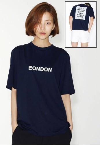 Love Cityesprit台灣outlet London  短袖上衣, 服飾, 上衣