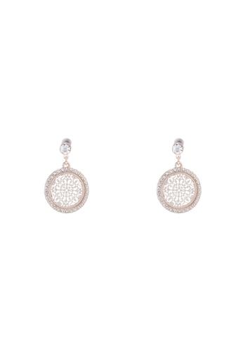 34aa23578 Buy Forever New Valerie Diamante & Filigree Drop Earrings Online on ZALORA  Singapore