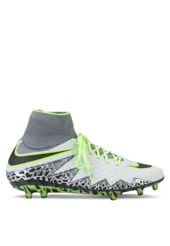 02a527304 ... nike black and green and silver mens nike hypervenom phantom ii (fg)  firm