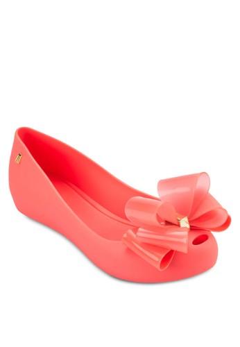 Ultragirl 立體蝴蝶結平底鞋, 女鞋, 芭蕾平esprit outlet 台中底鞋