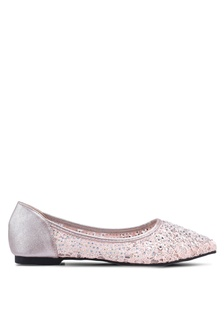 cf2efab75ae Nose Patent Pointed Toe Bowtie Flat Pumps S  30.90 NOW S  21.90. Lace Pointy  Ballerina Flats 612CDSH972DA22GS 1