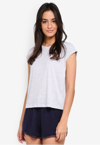 Cotton On Body grey Rib Boxy T-Shirt B3A3AAA1ED508CGS_1