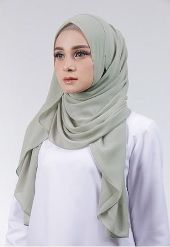 Cantik Kerudung green Adela Instant AD638AABDB3778GS_1