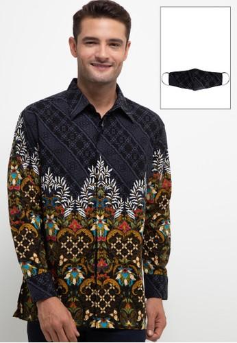 ARJUNA WEDA multi Kemeja Batik Kawung Hati 0DAE6AA79A487FGS_1