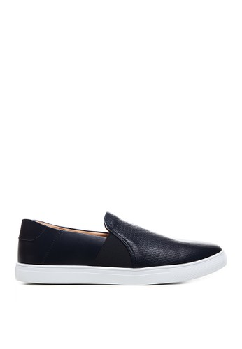 Minarno black Minarno Black Leather Slip-On 262 3B65ESHD37E189GS_1