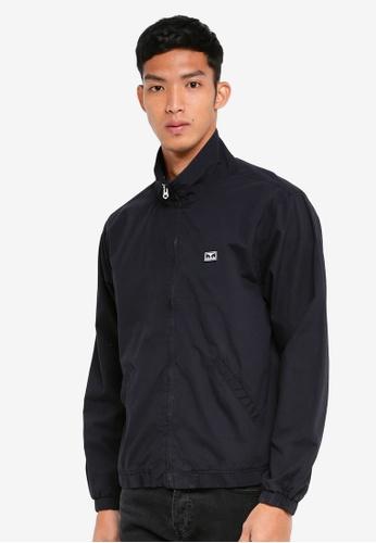 OBEY 黑色 休閒高領夾克外套 0753BAA128BB67GS_1