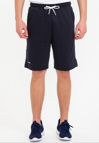 Bossini navy Air Tech - Solid Slim Fit Shorts A6C14AAB13246CGS_1