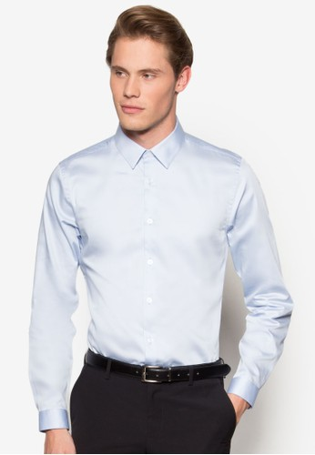 埃及棉正式襯衫,esprit outlet 台灣 服飾, 素色襯衫