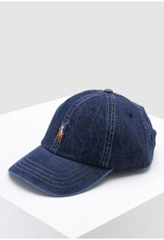 4c2be6b790d Polo Ralph Lauren blue Cotton Chino Sport Cap C634EAC33EF702GS 1