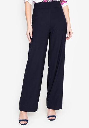 Fatima Beltran Clothing Line blue Wide Leg Pants C555AAA7469511GS_1