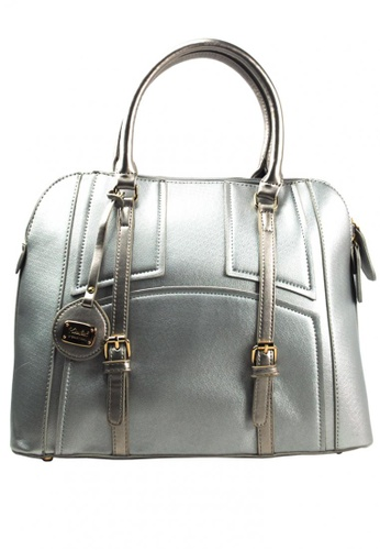 Kimbel International silver HGZ27513 Handbag with Sling KI262AC0JCC5PH_1