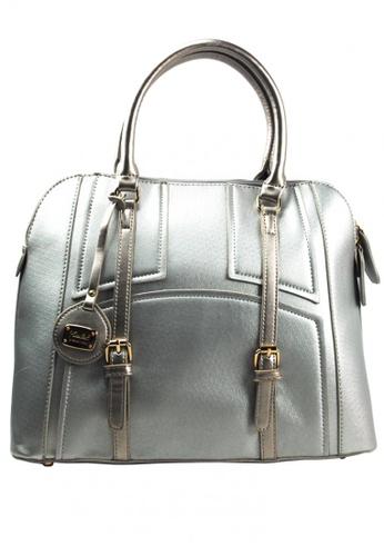 Kimbel International silver HGZ27513 Handbag with Sling KI262AC0JCC5PH_1