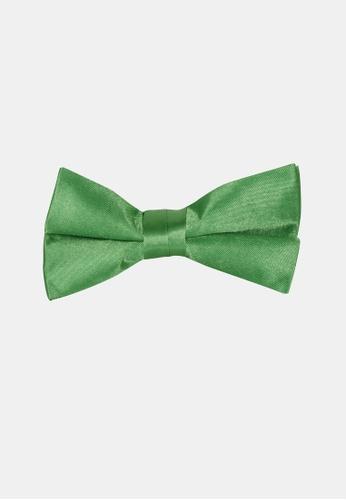 Buckle green Plain Bow Tie with Pocket Hanky E7908AC1526AD8GS_1
