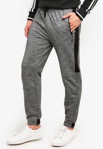 OVS 黑色 Fleece 長褲 With Band 02E5EAADF91633GS_1