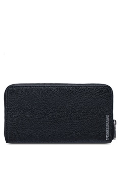 Calvin Klein black Long Zip Around Wallet - Calvin Klein Accessories  422B9AC284D628GS 1 d8bac54e7