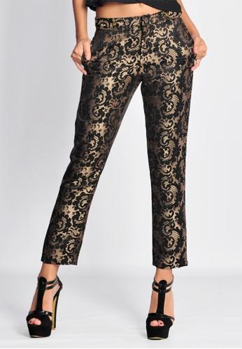 SJO & SIMPAPLY SJO's Raflesia Black Gold Women's Pants
