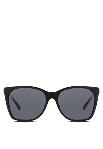 時尚印花方框太陽眼鏡, 飾品配件, 飾esprit門市品配件