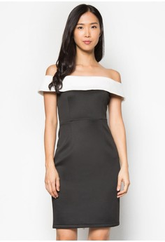 Collection Off Shoulder Bodycon Dress