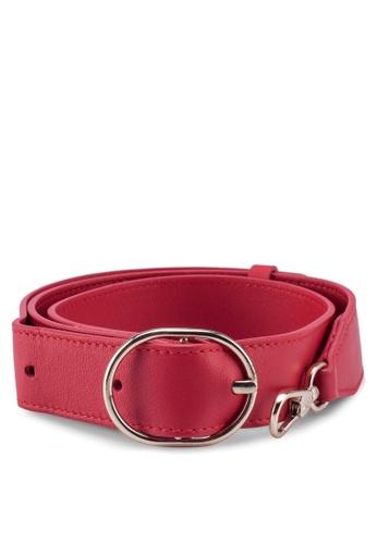Pop & Suki red Wide Fanny Strap E844FAC8951290GS_1
