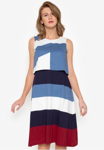 Blued blue Sadie Dress BD275AAB796108GS_1