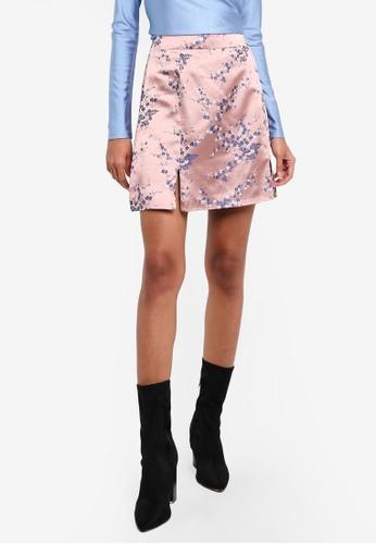 Glamorous pink Floral Skirt GL059AA0RL39MY_1