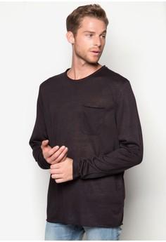 Pocket Long Sleeve T-Shirt