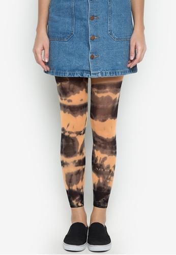Leg Love multi 40D Tie Dye Leggings LE656AA0JKG7PH_1