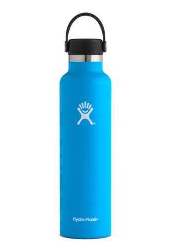 Hydro Flask blue Hydroflask Standard Mouth W/Standard Flex Pacific 24Oz 74A3BAC793A400GS_1