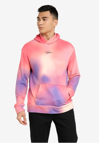 Hollister multi Wash Pullover Sweatshirts 92A9BAA3429A1EGS_1
