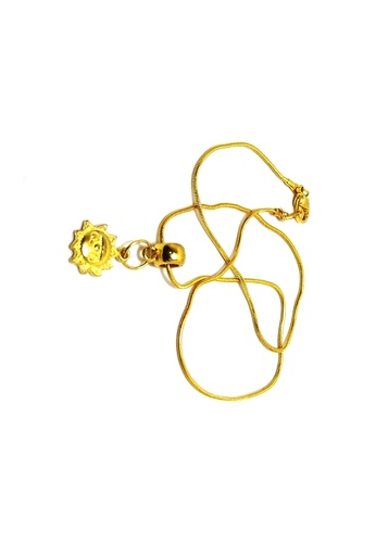 KLF KLF Luprend Ladies Gold Pendant Set KL134AC0RNKVMY_1