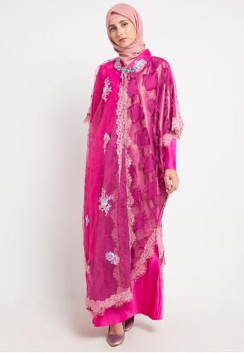 LUIRE by Raden Sirait pink Dqo-Tania A057FAAD4C452FGS_1