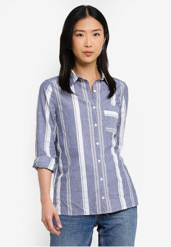Cotton On blue Casual Steph Shirt D05E7AAA0E9E4EGS_1
