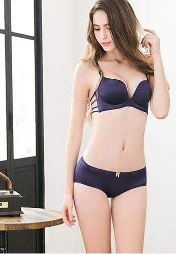 9f63d2b2d5 Shop Sesura Strappy Snazzy Bra And Panty Set Online on ZALORA Philippines