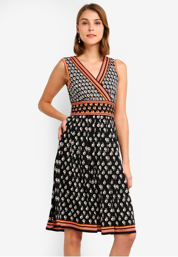 d8a4feda2e Shop Max Studio Fit   Flare Patterned Dress Online on ZALORA Philippines