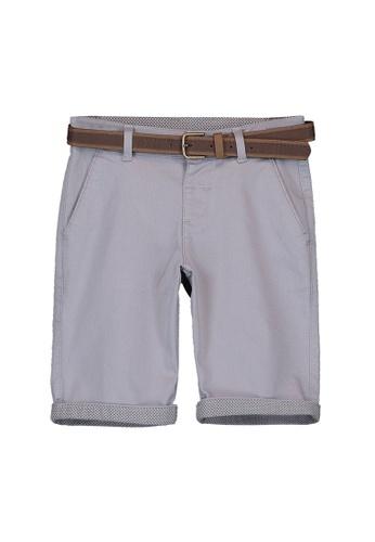 LC Waikiki grey Boy's Cotton Shorts D9451KAFF21CADGS_1