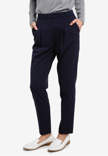 Tommy Hilfiger navy LIBBY PULL ON PANT TO729AA0G1RBSG_1