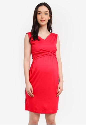 Envie De Fraise red Maternity Divine Tank Dress 831F9AAA7F1A1DGS_1
