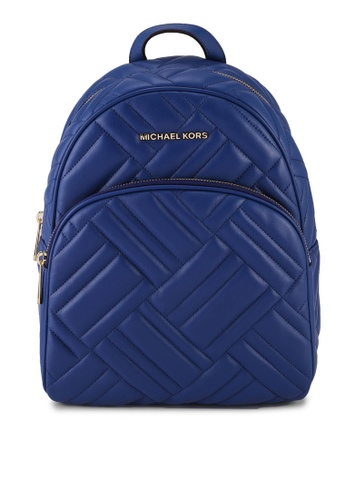 Michael Kors blue Abbey Backpack (nt) A6EE8ACD7059B7GS_1