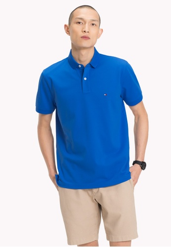 Tommy Hilfiger blue TOMMY REGULAR POLO 7C187AA68C9303GS_1
