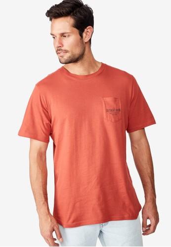 Cotton On red Tbar Moto T-Shirt 32F2DAA41200AEGS_1