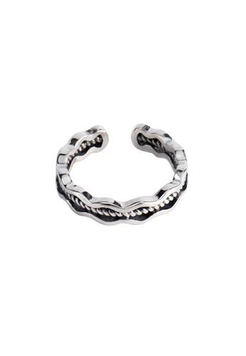 OrBeing white Premium S925 Sliver Wave Ring 926F8AC1B5CCBDGS_1