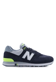 72e0d5b3bbea Available in several sizes · New Balance navy 574 Lifestyle Shoes  C4428SH9D60321GS_1